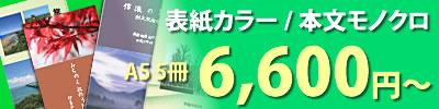 冊子印刷 表紙カラー・本文モノクロ